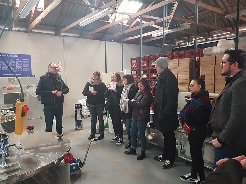 Visite Atelier Brasserie des Dunes de Flandre & AFPA Dunkerque 2