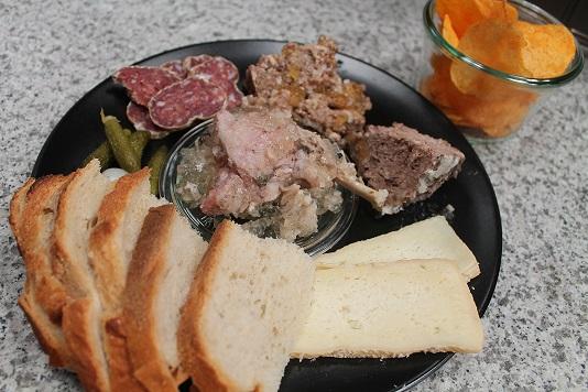 Assiette du Brasseur Brasserie des Dunes de Flandre