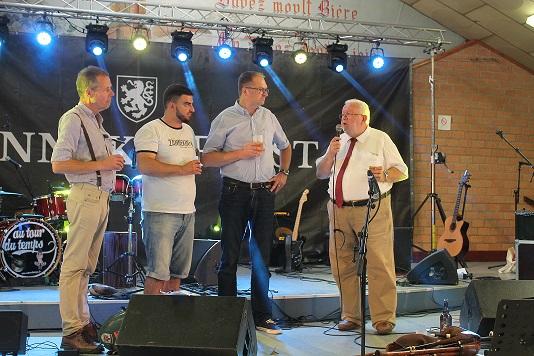 Inauguration Zannekin Bier DIABINTE