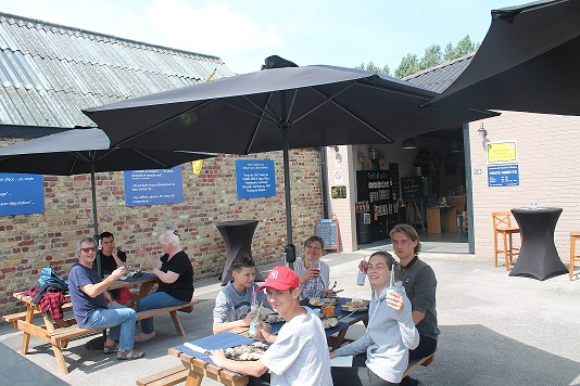 Terrasse Brasserie des Dunes de Flandre