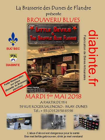 FLYERS BROUWERIJ BLUES version B