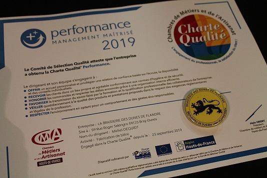 Charte Qualité PERFORMANCE DIABINTE 2